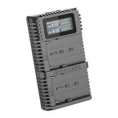 Nitecore USB dual charger - Sony Pro NP-F750 NP-F770
