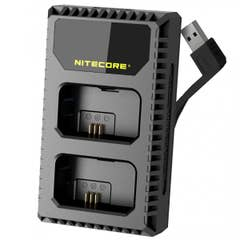 Nitecore USN1 Sony USB Dual Slot Charger for NP-FW50 Battery