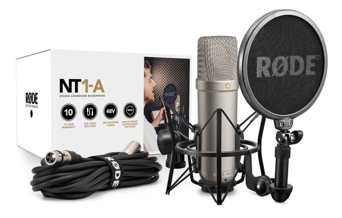 Rode NT1-A Large Diaphragm Condenser Microphone (Single)  NT1A