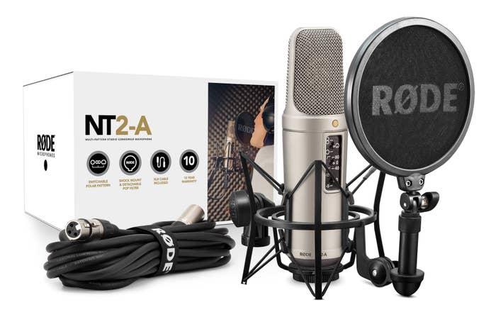 Rode NT2-A Studio Solution Package    (1-RODNT2-A)