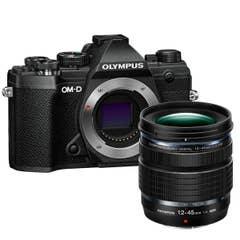 Olympus E-M5 Mark III Black 12-45mm Lens Kit