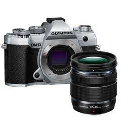 Olympus E-M5 Mark III Silver 12-45mm Lens Kit