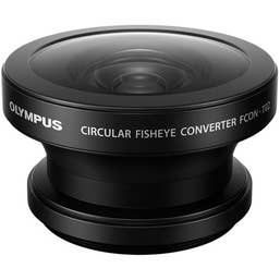 Olympus FCON-T02 Fisheye Converter for TG-6 (Must be used with CLA-T01)