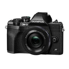 Olympus OM-D E-M10 Mark IV Black with 14-42mm f/3.5-5.6 EZ Lens