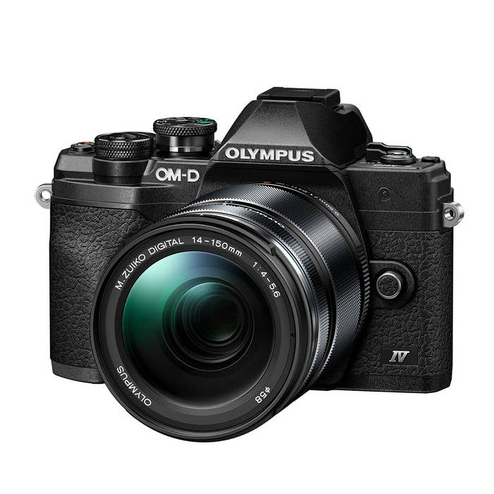Olympus OM-D E-M10 Mark IV Black with ED 14-150mm f/4-5.6 II Lens