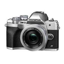 Olympus OM-D E-M10 Mark IV Silver with 14-42mm f/3.5-5.6 EZ Lens