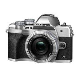 Olympus OM-D E-M10 Mark IV Silver with 14-42mm f/3.5-5.6 EZ Lens
