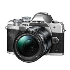 Olympus OM-D E-M10 Mark IV Silver with ED 14-150mm f/4-5.6 II Lens