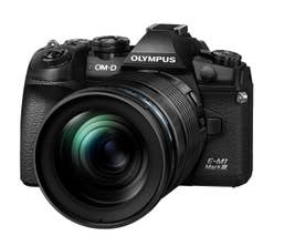 Olympus OM-D E-M1 Mark III with 12-100mm f/4 IS PRO Lens Kit (Black)