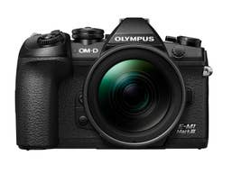 Olympus OM-D E-M1 Mark III with 12-40mm f/2.8 PRO Lens Kit (Black)