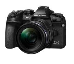 Olympus OM-D E-M1 Mark III with 12-40mm f/2.8 PRO Lens Kit (Black)