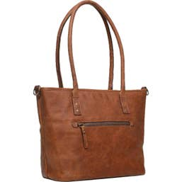 ONA CAPRI II - Italian Leather Antique Cognac