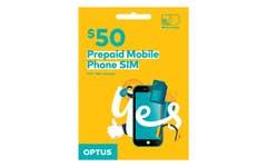 Optus $50 Voice SIM