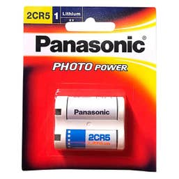 Panasonic - 2CR5 6V 1pk