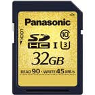 Panasonic 32GB Gold Series UHS-I SD Memory Card