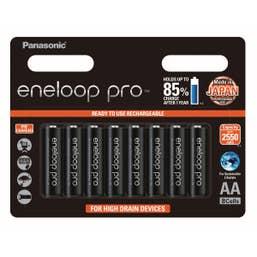 ENELOOP Pro AA - 8 pk