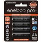 Panasonic Eneloop Pro 4 x 2550 mAh batteries AA size
