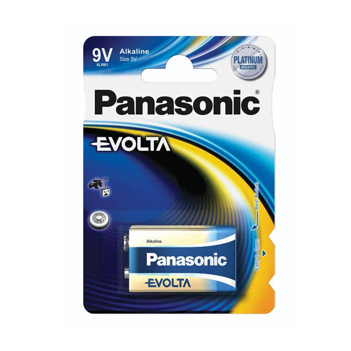 Panasonic EVOLTA 9V - BLISTER 1PK