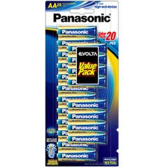 Panasonic EVOLTA AA - BLISTER 20PK