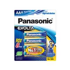 Panasonic EVOLTA AA - BLISTER 8PK