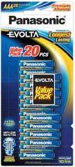 Panasonic EVOLTA AAA - BLISTER 20PK