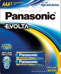 Panasonic EVOLTA AAA -BLISTER 2PK