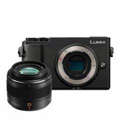 Panasonic Lumix GX9 - Black w Leica 25mm f1.4 DG Summilux Lens