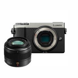 Panasonic Lumix GX9 - Silver w Leica 25mm f1.4 DG Summilux Lens