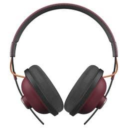 Panasonic RP-HTX80BE-K Wireless Bluetooth Over Ear Headphones - Red