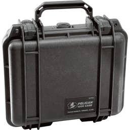 Pelican 1200 Case with Foam -Black