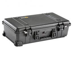 Pelican 1510SCB Studio Case with Dividers and Laptop sleeve (Black)