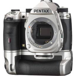 Pentax K-3 Mark III DSLR Camera Premium Kit with Battery Grip (Silver)