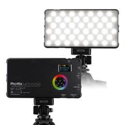 Phottix M200RGB Pocket LED Light with Power Bank for Mobile Phones