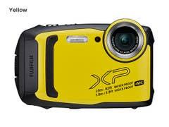 FujiFilm - Finepix XP140 - Yellow family fun waterproof compact