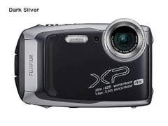 FujiFilm - Finepix XP140 - Dark Silver family fun waterproof compact