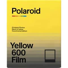 Polaroid 600 Black and Yellow Film - Duochrome Edition (8 Photos) (6022)