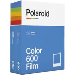 Polaroid Color 600 Instant Film Twin Pack