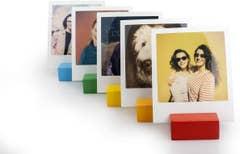 Polaroid Photo Stand - Rainbow