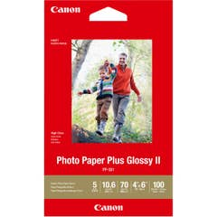 PP301 4x6-100 100 Sheets 265 gsmPhoto Paper Plus Glossy II Paper Canon