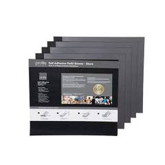 Profile Self Adhesive 335x325 - 10 Pages - Black