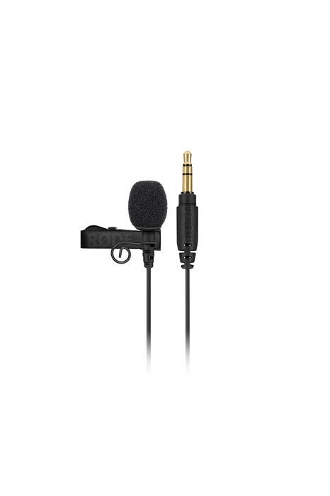 Rode Lavalier GO Professional-grade wearable microphone for the Rode Wireless GO at digiDirect