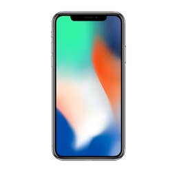 Renewed iPhone X 64GB (Silver) Excellent Condition (B+)