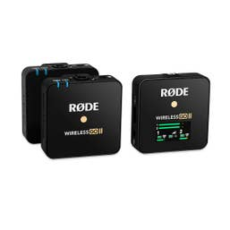 Rode Wireless Go II Dual-Channel Wireless Microphone System