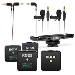 Rode Wireless GO Interview Kit - 2 Person Lavalier Bundle