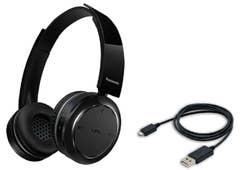 Panasonic RP-BTD5E-K Lightweight Headphones, flat folding, Black