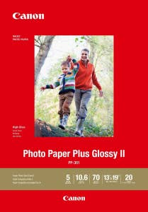 Canon PP301A3+ 20 SHTS 270gsm Photo Paper Glossy II