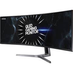 Samsung CRG9 49 120Hz FreeSync2 5K2K Ultra-Wide Curved Gaming VA QLED Monitor