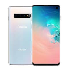 Renewed Samsung Galaxy S10 128GB (PrismWhite) Excellent Condition (B+)