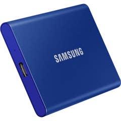 Samsung T7 500GB USB 3.2 Portable SSD - Blue