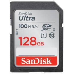 SanDisk Ultra SDHC SDUNR 128GB C10 UHS-I 100MB/s R